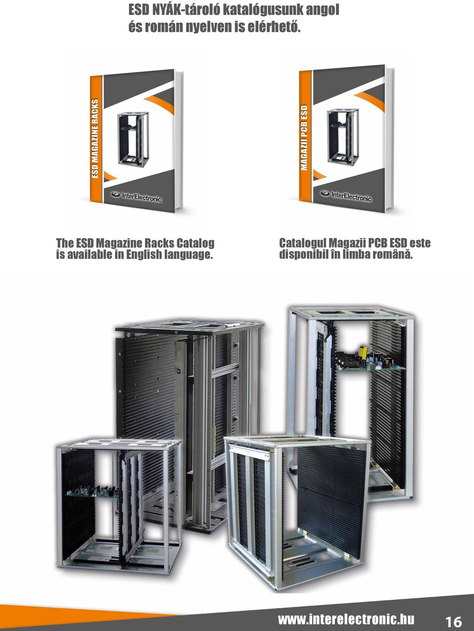 The ESD Magazine Racks Catalog is available in