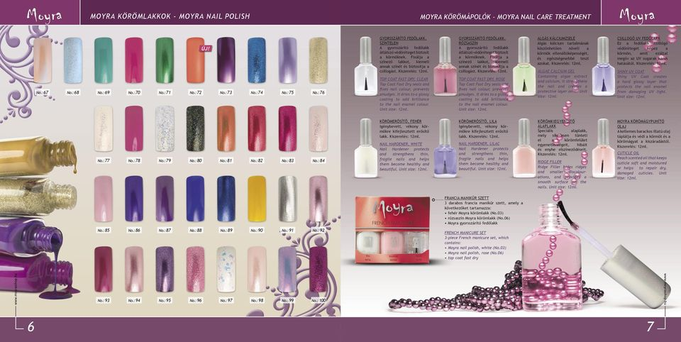 TOP COAT FAST DRY, CLEAR Top Coat Fast Dry seals and fixes nail colour, prevents smudges. It dries to a glossy coating to add brilliance to the nail enamel colour. Unit size: 12ml.