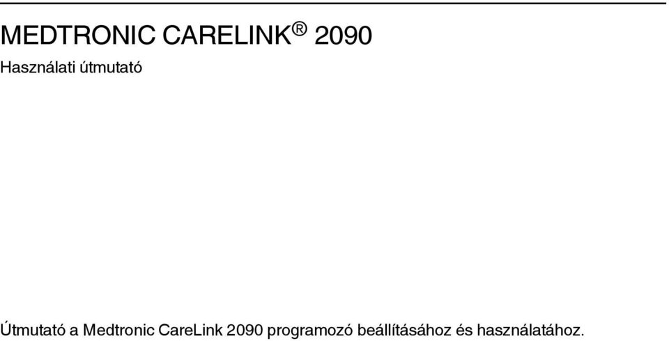 Medtronic CareLink 2090
