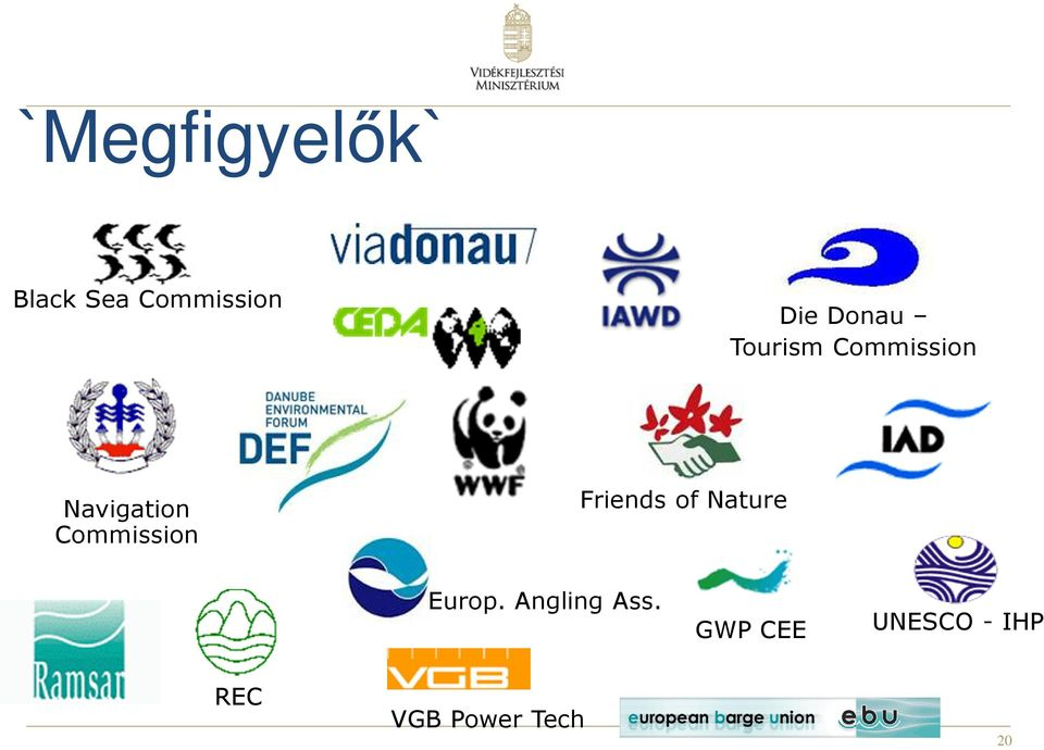 Commission Friends of Nature Europ.
