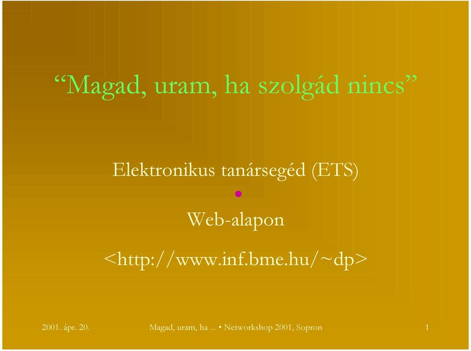 Web-alapon <http://www.inf.bme.