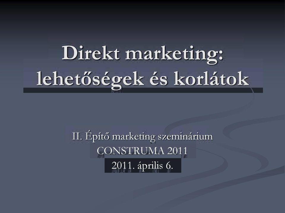 Építő marketing
