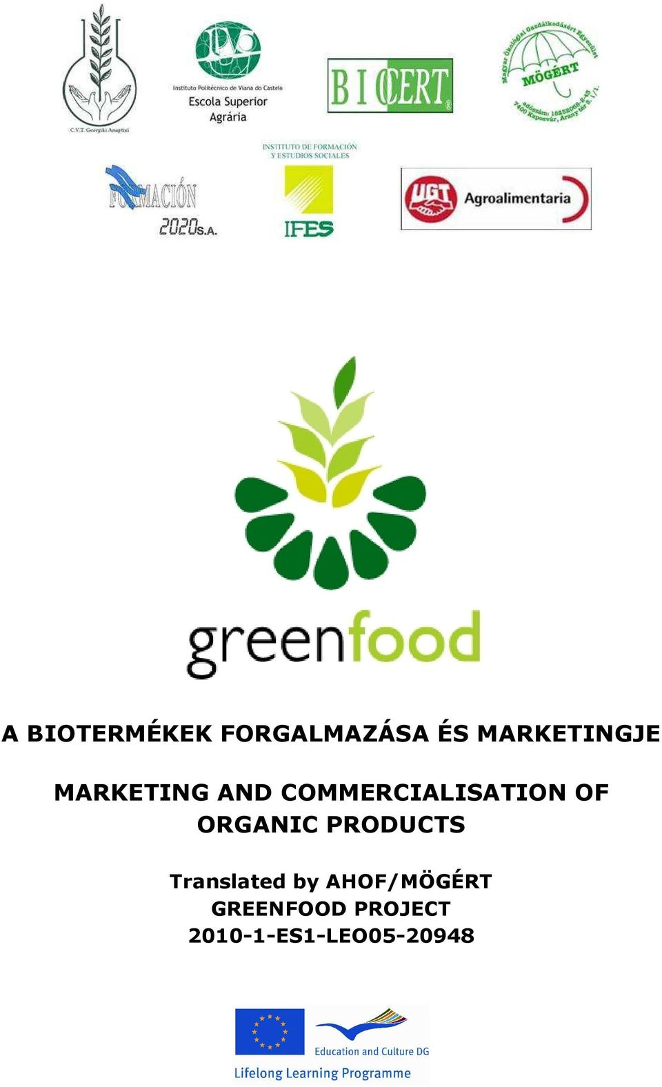COMMERCIALISATION OF ORGANIC PRODUCTS