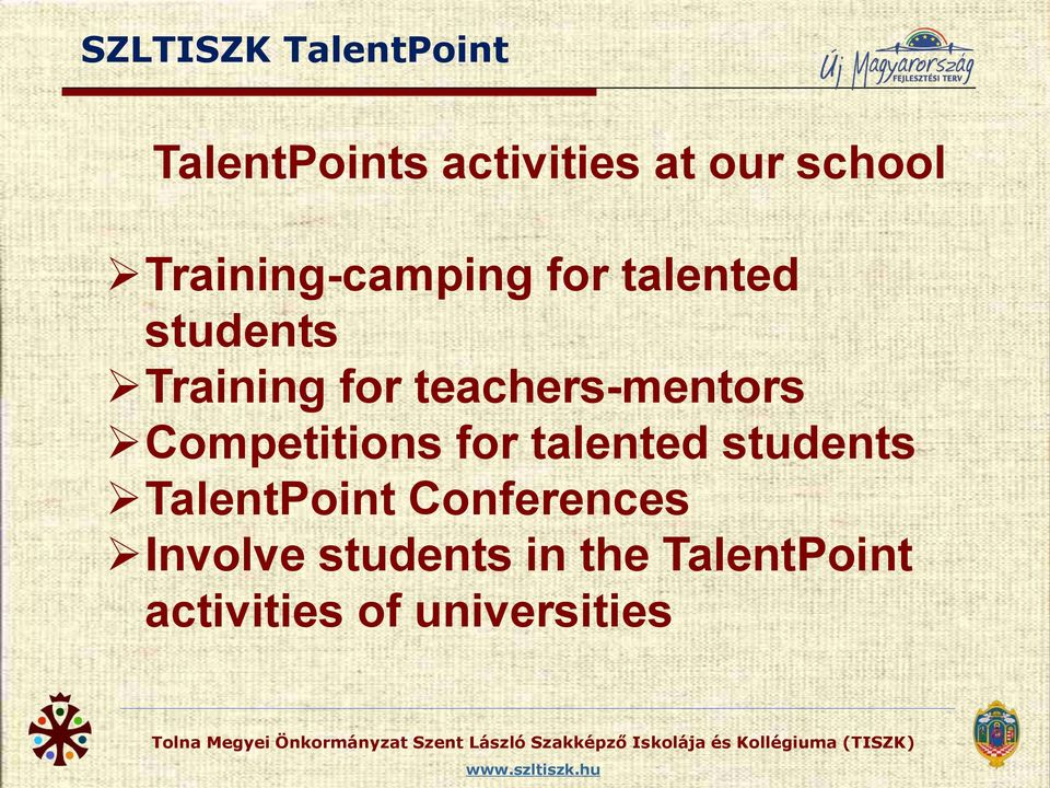 teachers-mentors Competitions for talented students