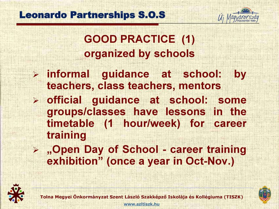 teachers, class teachers, mentors official guidance at school: some