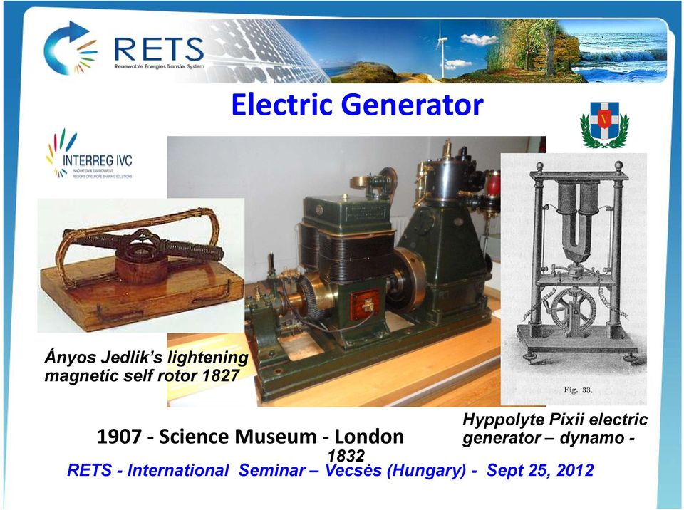 1907 Science Museum London generator dynamo - 1832