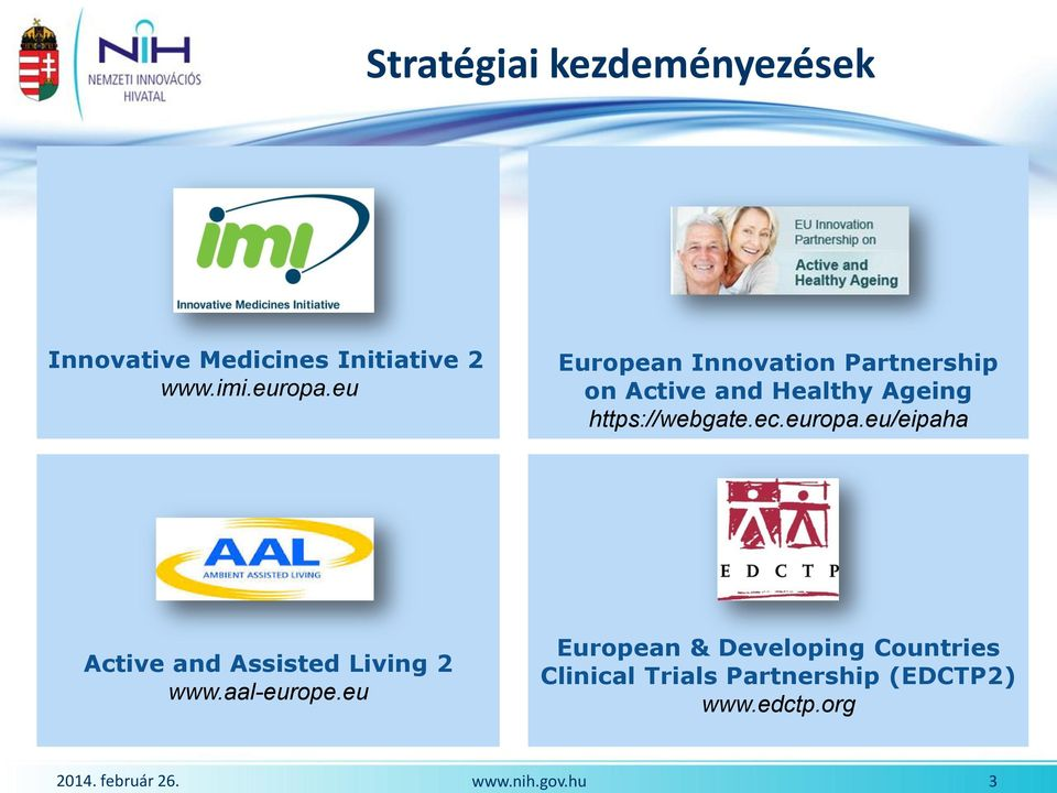 eu European Innovation Partnership on Active and Healthy Ageing