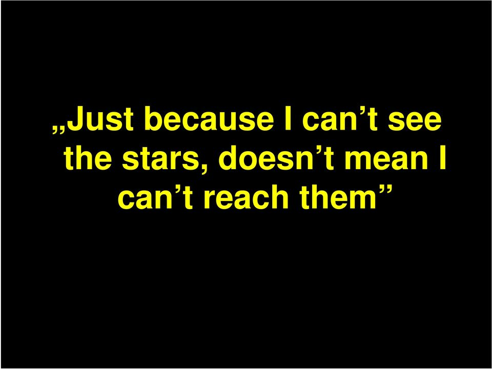 stars, doesn t