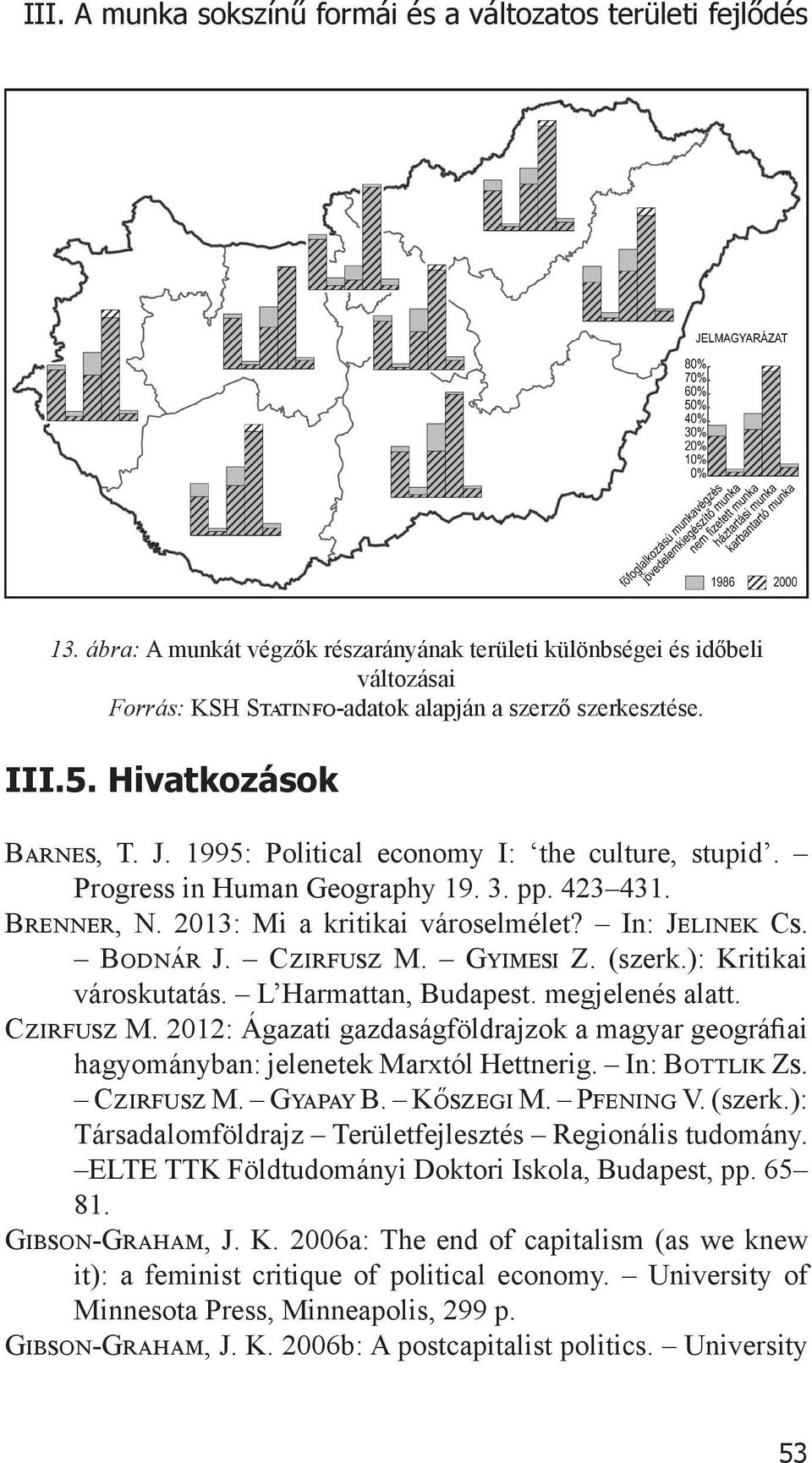 1995: Political economy I: the culture, stupid. Progress in Human Geography 19. 3. pp. 423 431. Brenner, N. 2013: Mi a kritikai városelmélet? In: Jelinek Cs. Bodnár J. Czirfusz M. Gyimesi Z. (szerk.