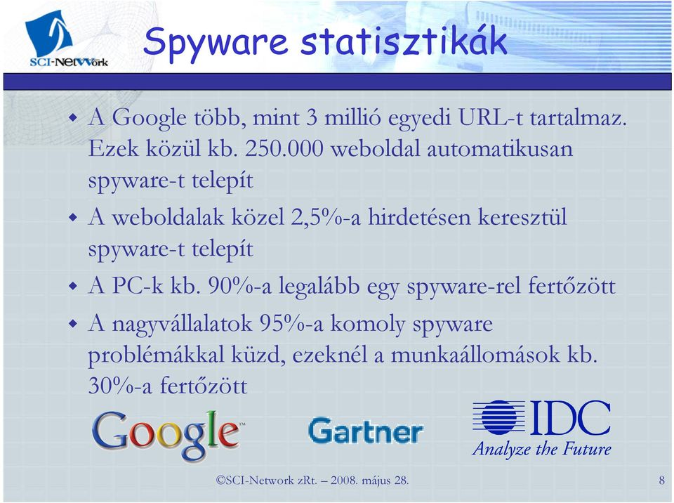 spyware-t telepít A PC-k kb.