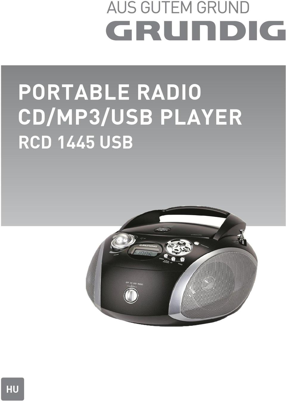 CD/MP3/USB
