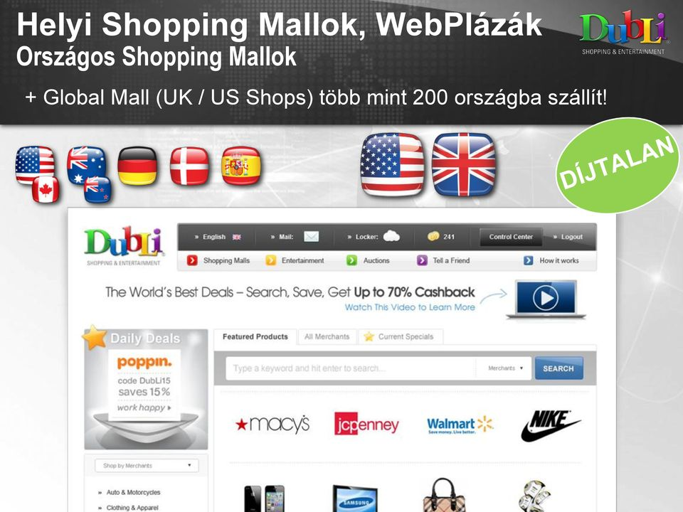 Mallok + Global Mall (UK / US