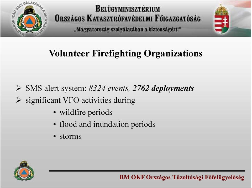 activities during wildfire periods flood and