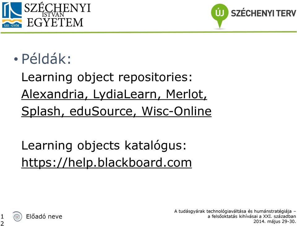 edusource, Wisc-Online Learning objects