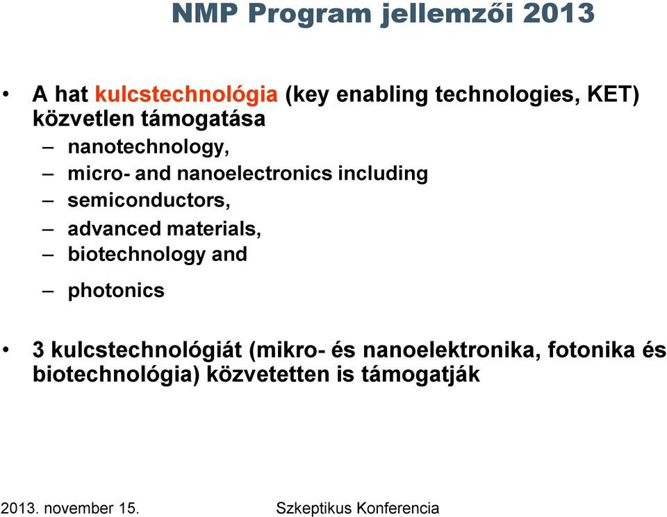 semiconductors, advanced materials, biotechnology and photonics 3
