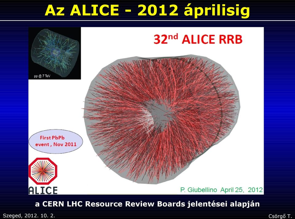 LHC Resource Review