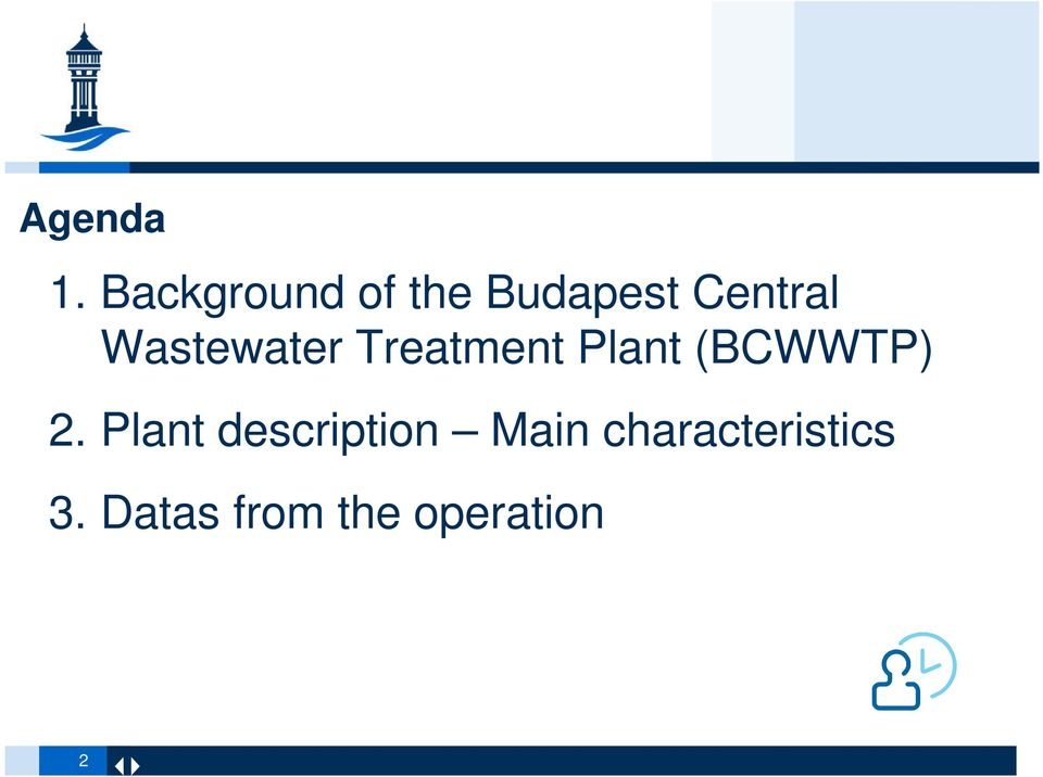 Wastewater Treatment Plant (BCWWTP) 2.