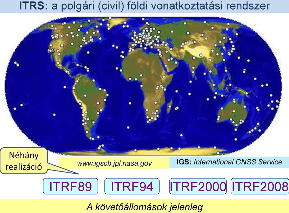 gov IGS: International GNSS Service ITRF89