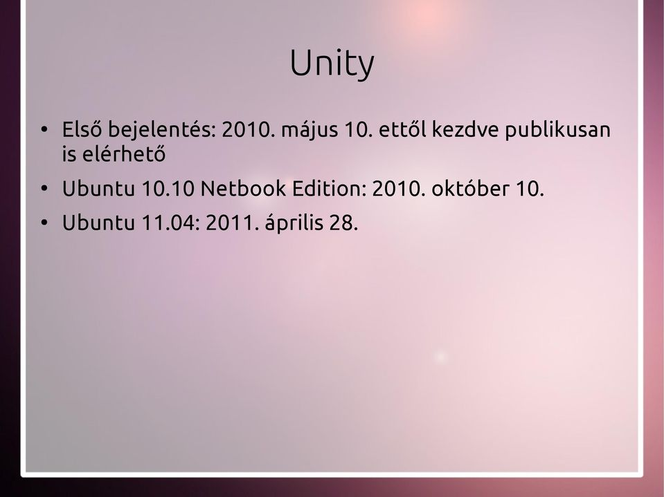 Ubuntu 10.10 Netbook Edition: 2010.