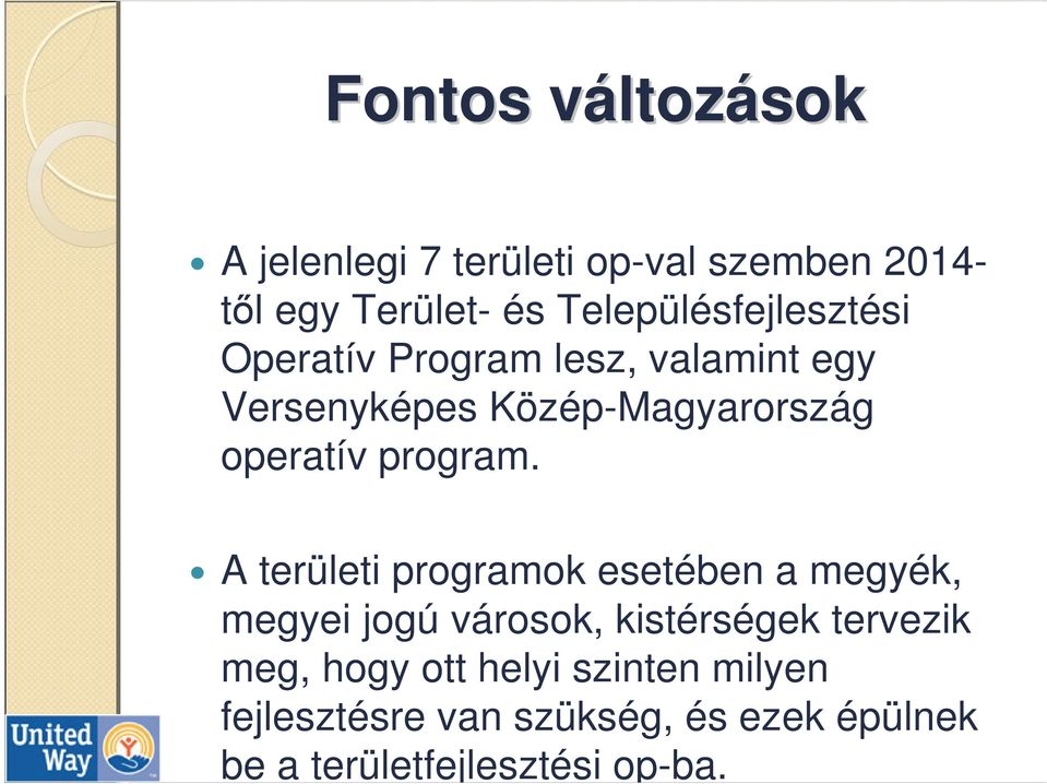operatív program.