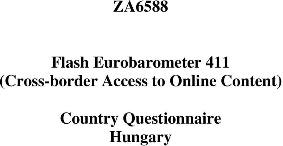 (Cross-border Access to