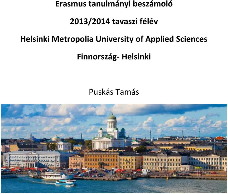 Metropolia University of Applied