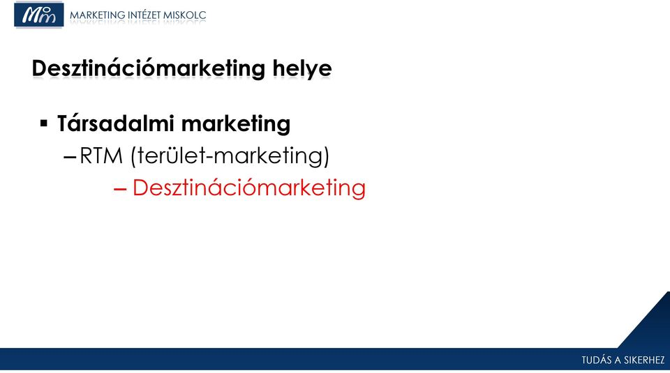 marketing RTM