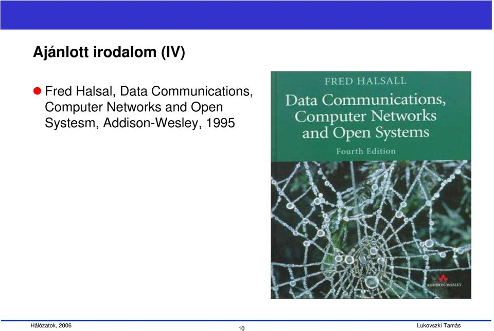 Computer Networks and Open