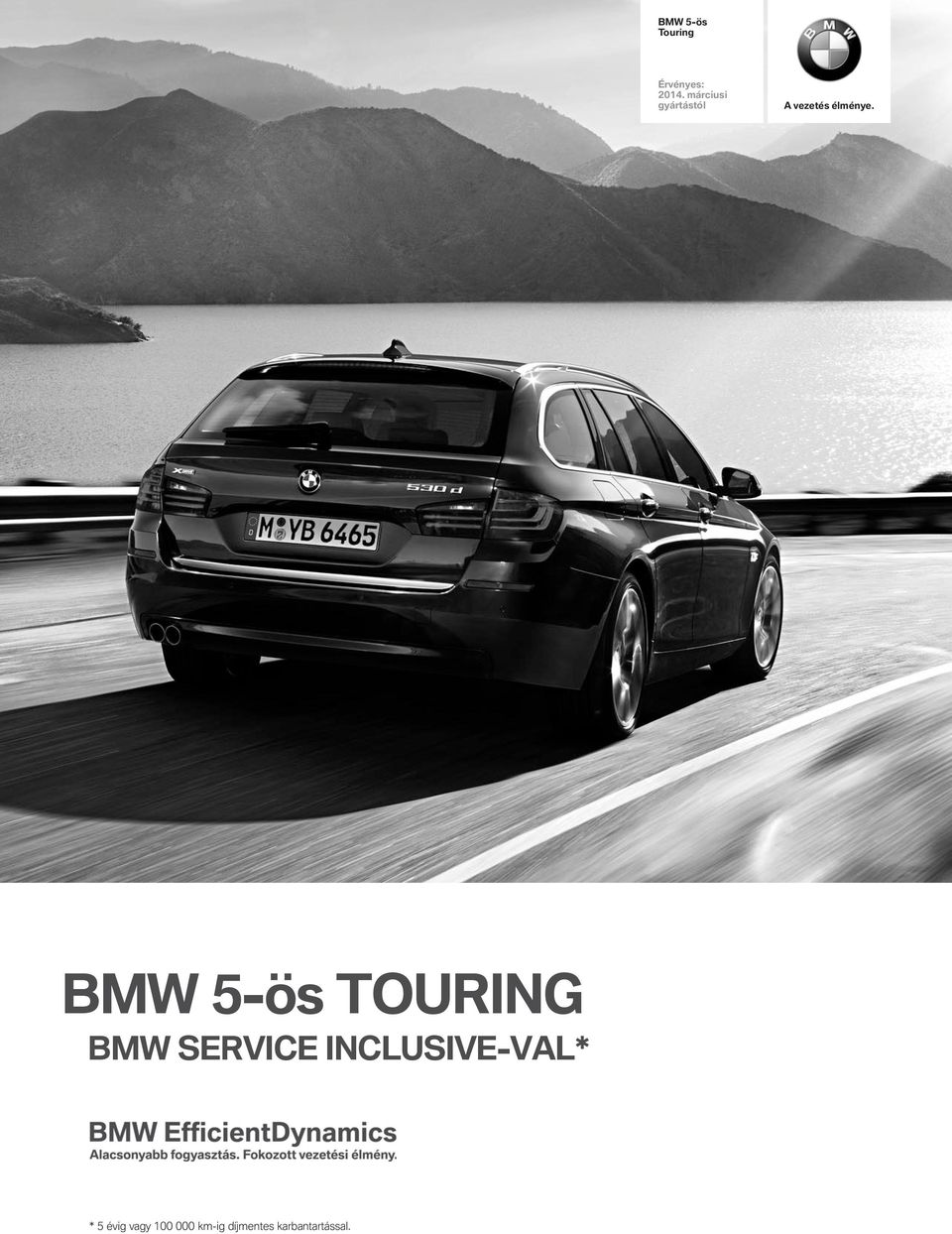 BMW 5-ös TOURING BMW SERVICE