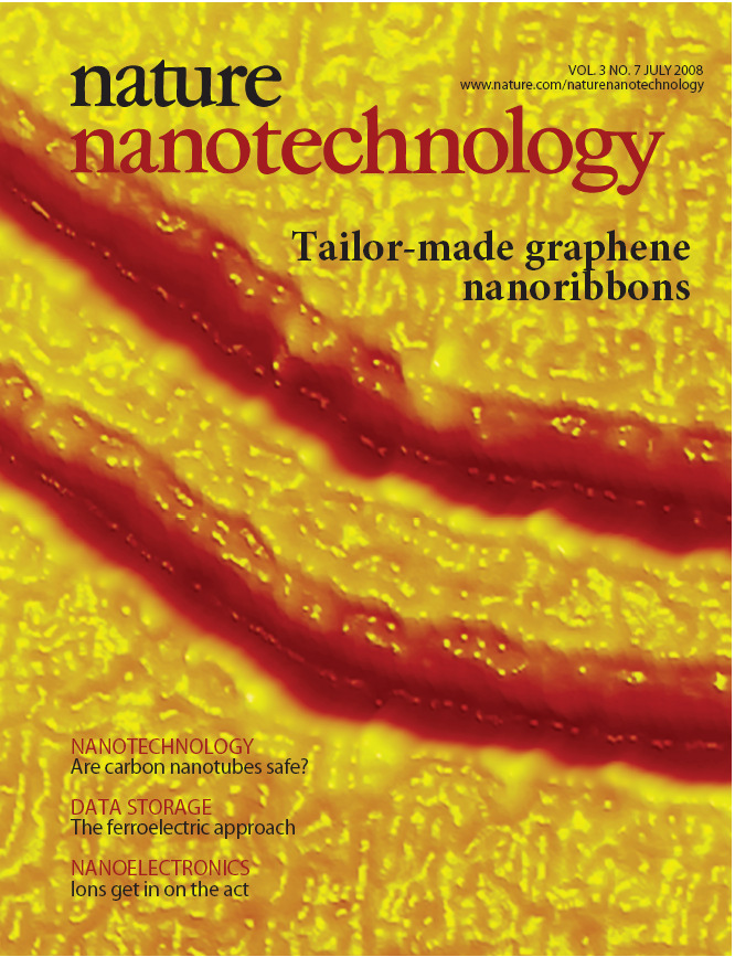 STM Nanolitográfia Tailoring the atomic structure of graphene nanoribbons by scanning tunnelling