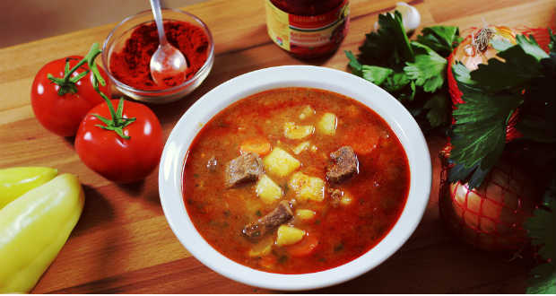 the main characteristics of Hungarian dishes health and the