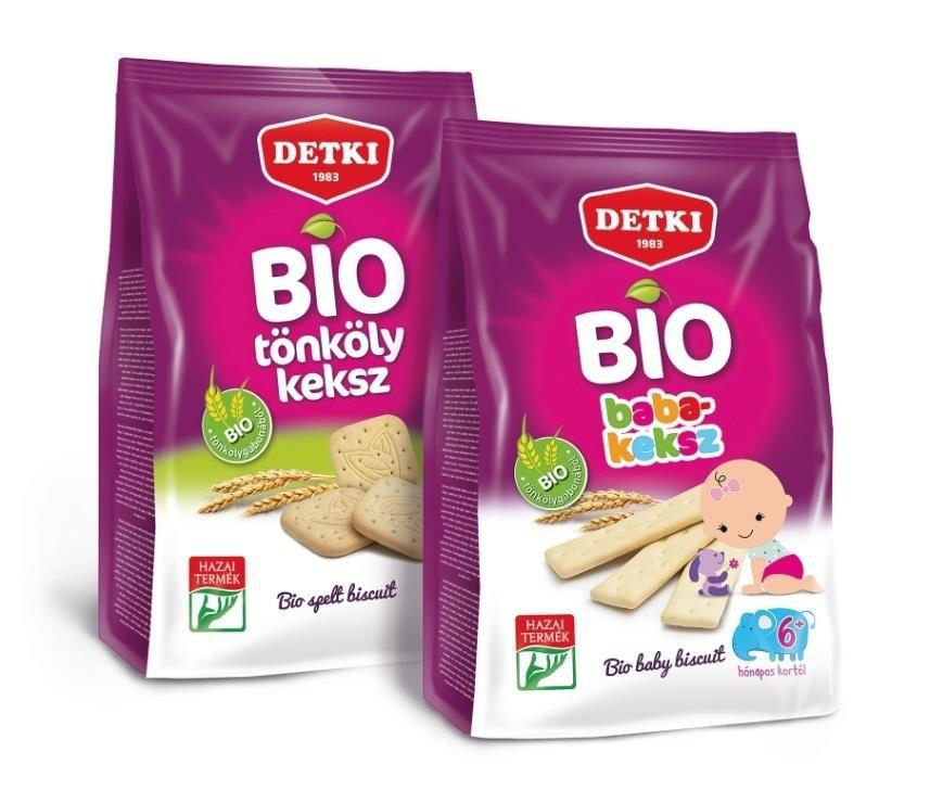 ORGANIC BISCUITS The first member of our kid line is the Bio Baby biscuit: the texture, shape and ingredients
