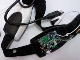 com As the EEG headset passes on the brain wave information through not standard WiFi connection therefore to read the EEG information from the device a construction of a special receiver unit is