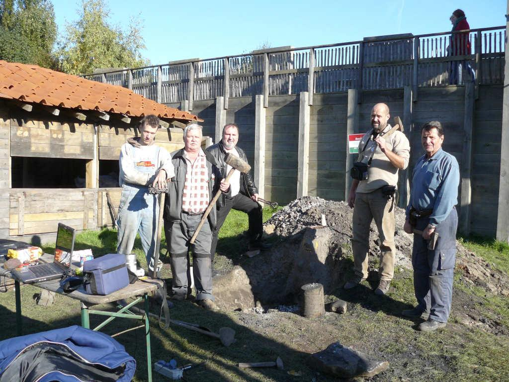 I. Team: ANCIENT METALWORKES OF HUNGARY Fig. 2: The Hungarian team Members (from right to left): András Fehér Ph.D.