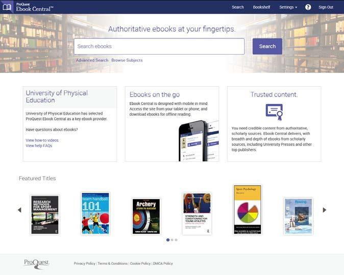 A ProQuest Ebook Central