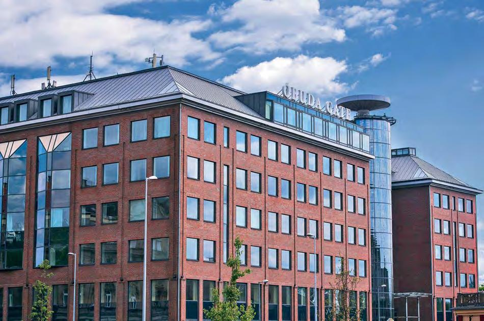 Modern technical standards ensure the optimal working environment in the class A of fice building on nearly 4, sq m. The office building designed in Scandinavian and Hungarian style was built in 2.