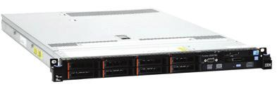 250cd, DVI IBM szerver x3550 M4 1x Six Core Xeon E5-2620 2.