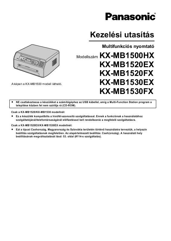 New Drivers: Panasonic KX-MB1530EX Multi-Function Station Device Monitor