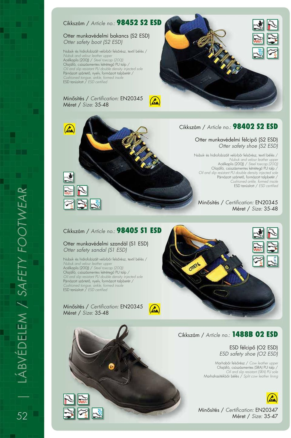 LÁBVÉDELEM SAFETY FOOTWEAR - PDF 936bbb5033